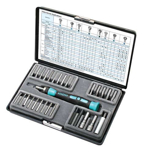 Pro'sKit 30 in 1 Video Game Professional Screwdriver Set from Pro'sKit