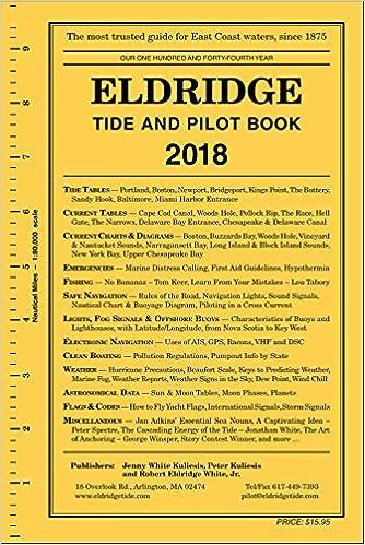 Eldridge Tide And Pilot Book 2018 Jenny White Kuliesis Peter