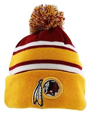 New Era Washington Redskins On Field Knit Cuffed Pom Knit Cap/Beanie