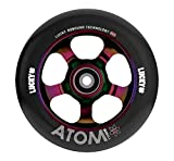 Lucky Scooter ATOM Pro Scooter Wheel (1-Count), NeoChrome/Black, 110mm
