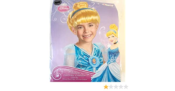 Amazon.com: Disney Princess Cinderella Blue Headband Child Wig OSFM NIP: Clothing