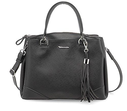 Tamaris Melanie Handbag - Borse a secchiello Donna, Schwarz (Black), 13.5x25x32 cm (B x H T)