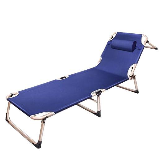 AOHMG Tumbona Plegable Jardin/Playa, Portable Plegable Silla ...
