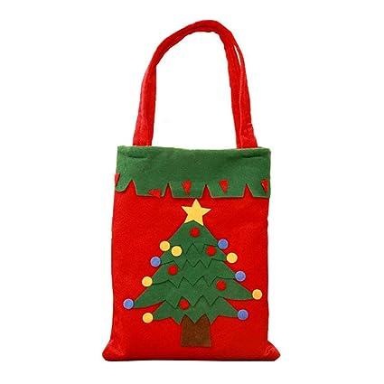 Isuper Navidad Caramelo Bolsas de Regalo pequeño Bolso de ...