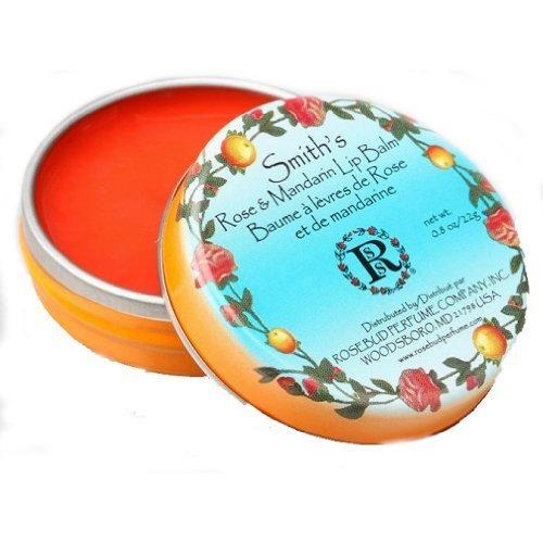 - Rosebud Smith's Lip Balm, Rose and Mandarin, 0.8 Ounce by Rosebud