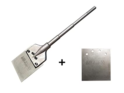Floor Scraper Tile Removal Tool With Free Extra Blade 6 Wide Sds