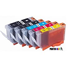Printer-Mate® 5 Pack Edible Ink Canon PGI-225 BK CLI-226 K C M Y Compatible ink cartridges for Canon PIXMA iX6520 MX882 iP4820 MG5120 MG5220 MG8120 MG6120