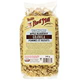 BOB's RED MILL No Fat Apple Blueberry Granola, 340gm