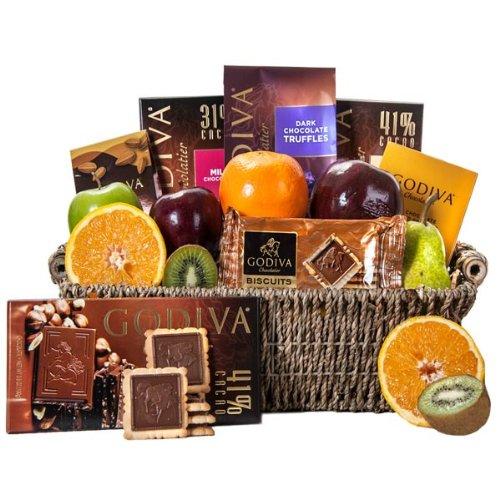Godiva Fruit Combo Basket
