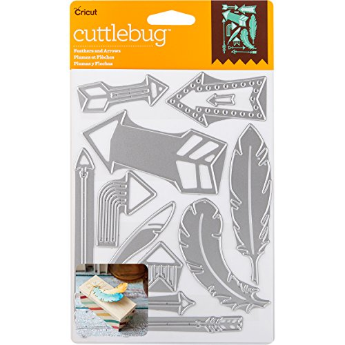 Cricut Cuttlebug Dies, Feathers & Arrows ()