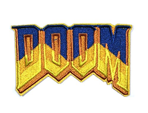 J&C Family Owned Cosplay Application New Doom Franchise Logo Applique Patch (Best Selling Anime Franchises)