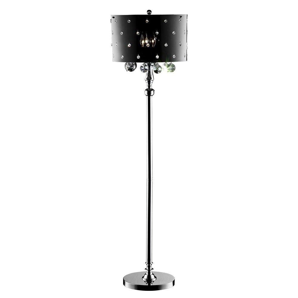 Ore International K-5120F 50 Star Crystal Floor Lamp