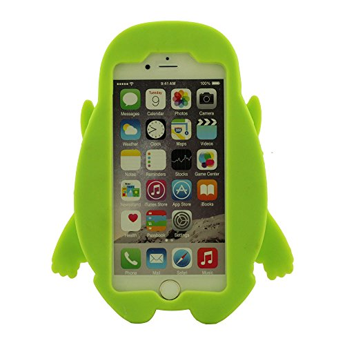 pour iPhone 6 / 6S 4.7�?Soft Silicone Gel Bumper Coque Case de Protection Couverture Protecteur - Vert, étui de Protection pour iPhone 6S [Fit Snugly] [Close Protection], Souple Housse de Prtoection D