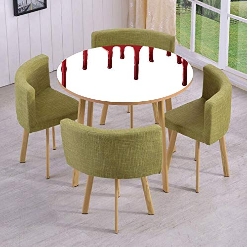 iPrint Round Table/Wall/Floor Decal Strikers/Removable/Flowing Blood Horror Spooky Halloween Zombie Crime Scary Help me Themed Illustration/for Living Room/Kitchens/Office -