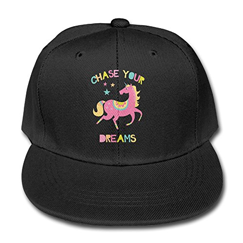 Chase Your Dream ajustable de las niñas Plain Cap. de béisbol sombrero 39218509478