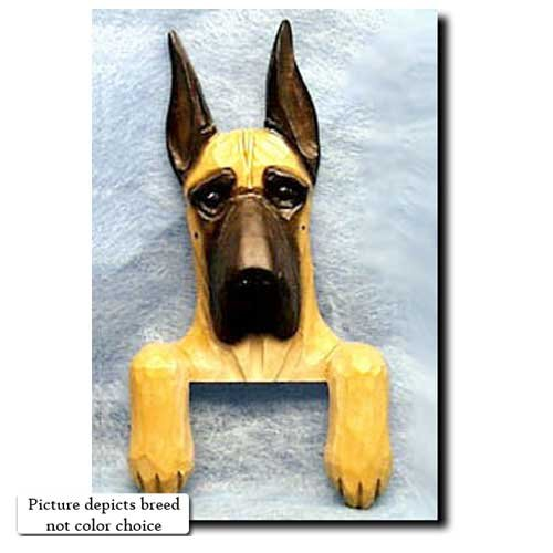 Michael Park Harlequin Great Dane Door Topper