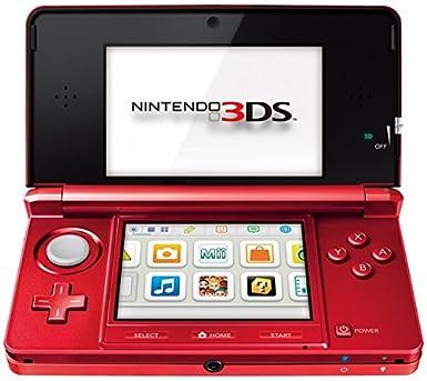 Amazon.com: NINTENDO 2200249 CONSOLE 3DS METALLIC RED: Video ...