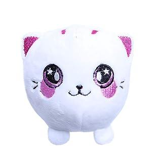 ZUIMEI Decompression Plush Cartoon Cat Balls Slow Rimbalzo Antistress a Compressione