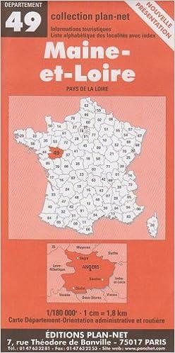 Livre gratuits en ligne Carte routière : Maine-et-Loire pdf, epub