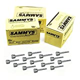Everflow Sammys 8024957-75 DSTR 100 1/4 inch Screw Vertical Threaded Rod Anchor Designed for Steel Structure, Steel with Electro-Zinc, Corrosion Resistance, 1/4-20 x 1 inch Screw Length (Pack of 75)