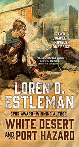 book cover of White Desert / Port Hazard