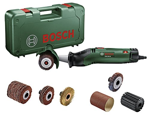 Bosch PRR 250ES 06033b5001-Fixierer Abrasives mit 3weitere Bürsten
