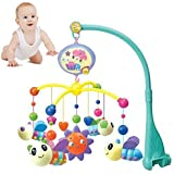 Kid Baby Musical Crib Bed Cot Mobile Bee Toys Nusery Lullaby Toy
