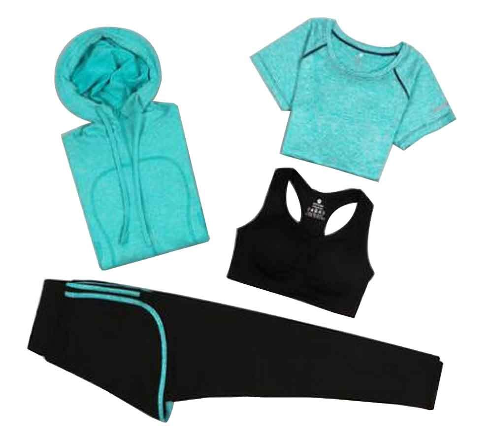 Sport Suit for Women Quick Drying Clothing for Ladies Yoga Clothing [C]