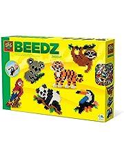 SES Creative 06303 Strijkkralen - Jungle dieren