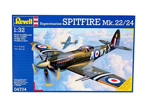 Revell 04704, Supermarine SPITFIRE Mk.22/24, 1:32 scale plastic model kit