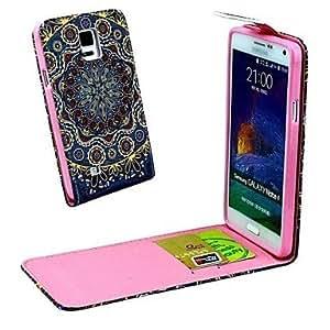 GX Teléfono Móvil Samsung - Carcasas de Cuerpo Completo - Gráfico/Diseño Especial - para Samsung Galaxy Note 4 ( Multi-color , Cuero PU )