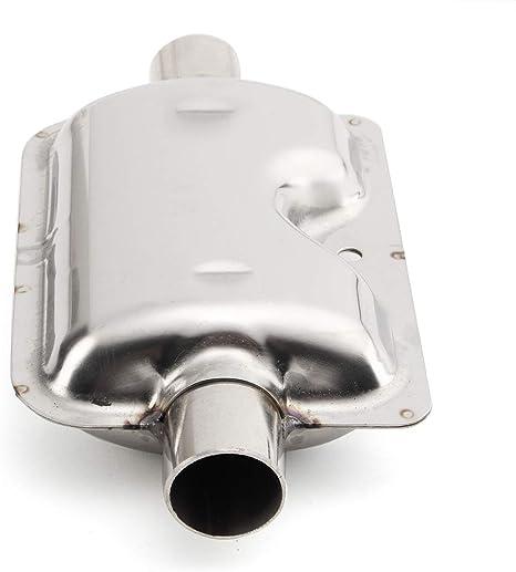 Abgasschlauch Edelstahl Auspuffrohr 25mm Gas-Entl/üftungsschlauch Auto Heizung Edelstahl Abgasrohr Standheizung Kraftstofftank Abgasrohr F/ür Diesel Heizung L/änge 120cm