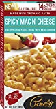 Pamela's Products Gourmet Gluten Free High Protein Pasta Meal with Real Cheese, Spicy Mac N' Cheese, 12 Count