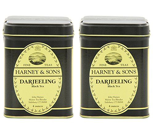 Leaf Black Tea, Darjeeling, 4 Ounce (Pack of 2) (4 Ounce Loose Tea)