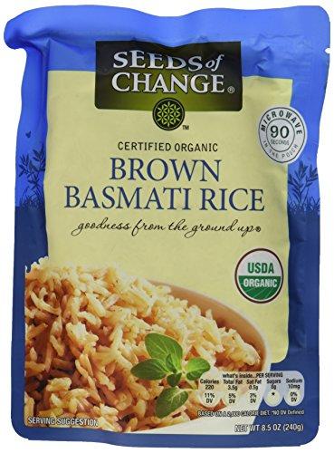 Seeds Of Change Rice Basmati Brown (8.5 oz Pack of 3) by SEEDS OF CHANGE