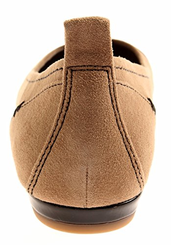 Leather Jana 22104 Leather 8 Closed Shoes Shoes Ballerinas Women Taupe RqawRTp