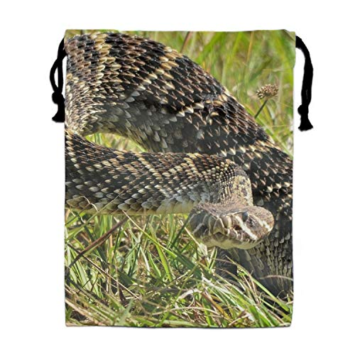 Animal Eastern Diamondback Rattlesnakes Drawstring for sale  Delivered anywhere in Canada