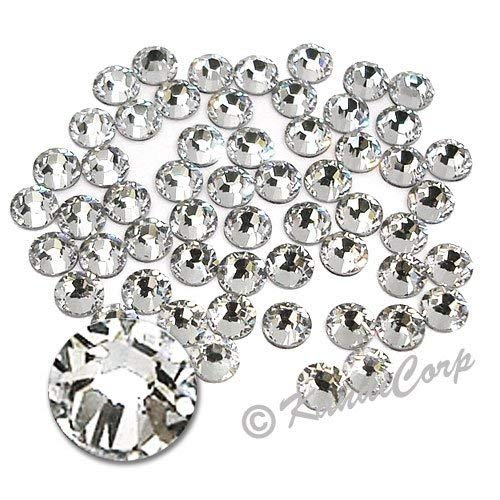 SS20 (5mm) Clear Crystal - Swarovski 2038 HotFix Rhinestones - 72 pcs. (1/2 Gross)