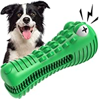 VRTOP Dog Chew Toys for Aggressive Chewers Large Medium Breed Squeaky Big Dogs Toys Nearly Indestructible Extra Tough...