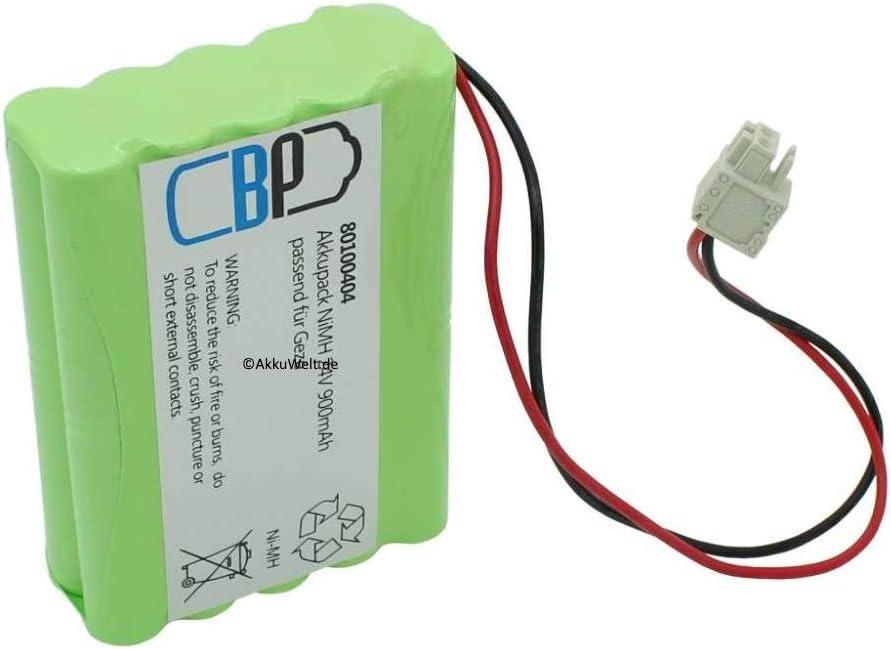 Gopacks batería de Repuesto para GEZE Slim Drive 106863Control Automático de Puerta Puerta Orificios drehtüren Puertas correderas Accu batería Battery Bateria batería
