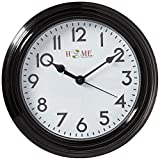 Uniware CL301 Basic Wall Clock, Silent Non Ticking Quality Quartz Battery Operated