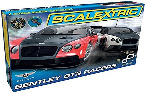 Scalextric Bentley GT3 Racers Slot Car Race Set (1:32 Scale)