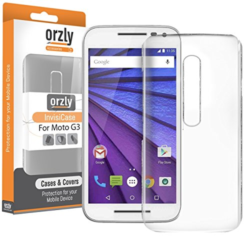 Orzly InvisiCase Transparent Protective Motorola