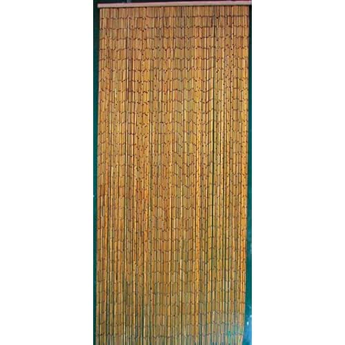 Natural Bamboo Beaded Curtain 125 Strands (+hanging hardware)  sc 1 st  Amazon.com & Doorway Bead Curtain: Amazon.com