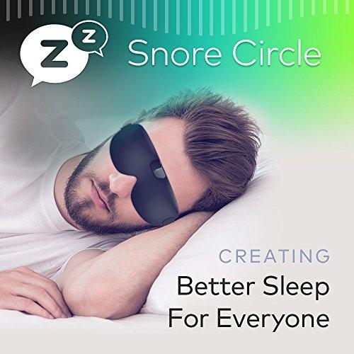 e6c335f6c Sleep Mask   Blindfold-Natural Silk Snore Circle Eye Mask for A Full Night s  Sleep