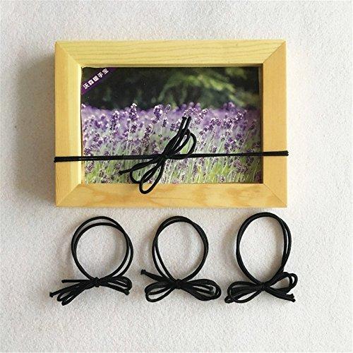 30 black hair tied bow hair lashing hair rubber band students Tousheng hair ring simple small fresh for women girl lady