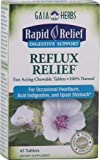 Best Acid Reflux Medications - Gaia Herbs, Rapid Relief Digestive Support Reflux Relief Review