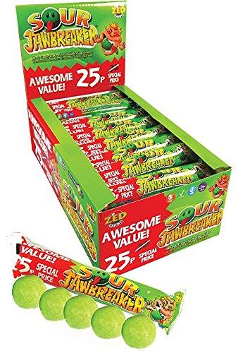 Sour Jawbreakers Bulk Buy - Box Of 30