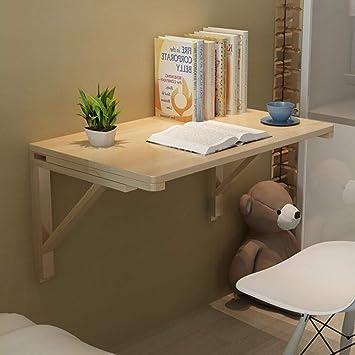 DEED Pequeña Mesa de Cocina Plegable para el hogar y Mesa de ...