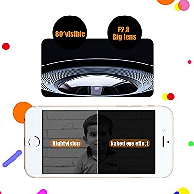 WiFi Wireless Doorbell Camera, Night Vision,Visitor Picture Records